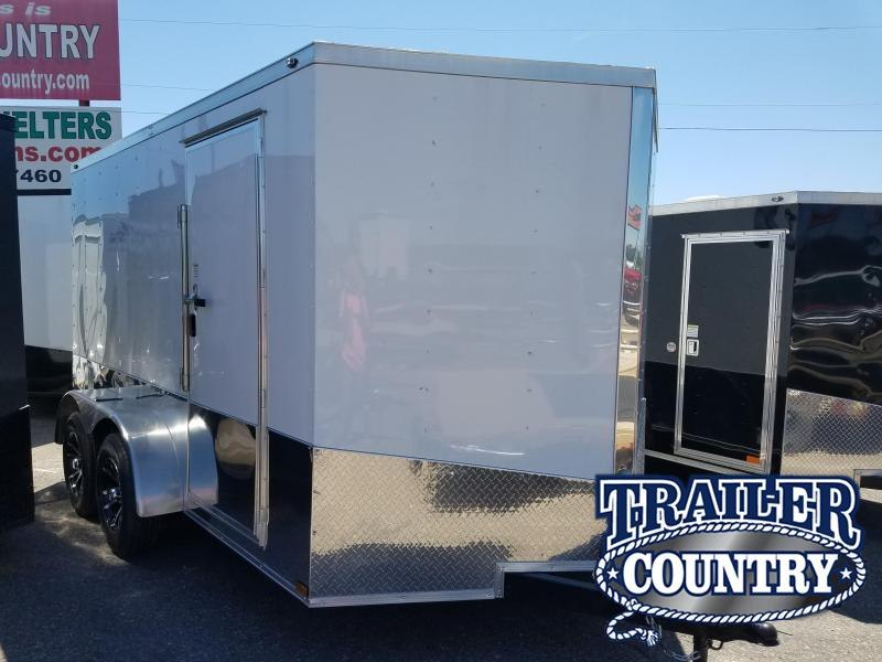2019 Spartan 7X12 TA Enclosed Cargo Trailer