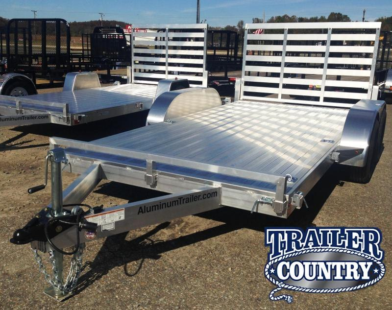***CLEARANCE***7x14 All Aluminum Utility Trailer-Torsion Axles-CLEARANCE