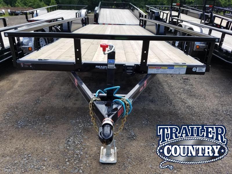 2018 PJ Trailers 83X20TA Utility Trailer