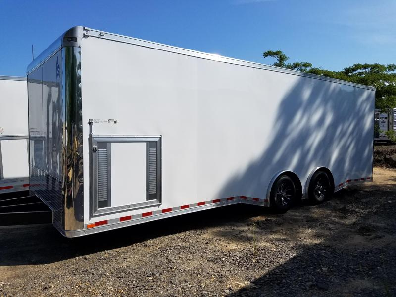 2018 Spartan 8.5X24 5200LB AXLES Car / Racing Trailer