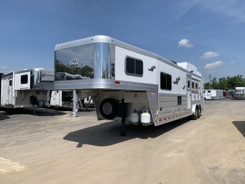 2018 Platinum Coach 3 HORSE Horse Trailer