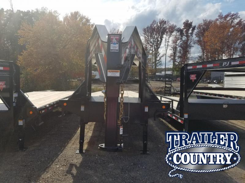 2019 PJ Trailers 102X40 HEAVY DUTY GN Flatbed Trailer