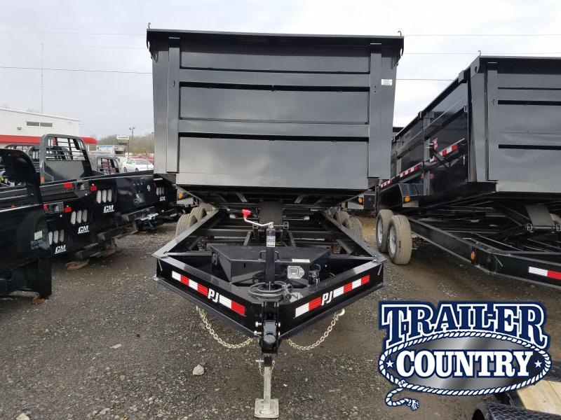 2019 PJ Trailers 83X16 LO PRO HIGH SIDES Dump Trailer