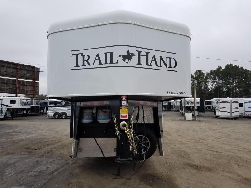 2018 Bison Trailers 7209 TRAIL HAND Horse Trailer