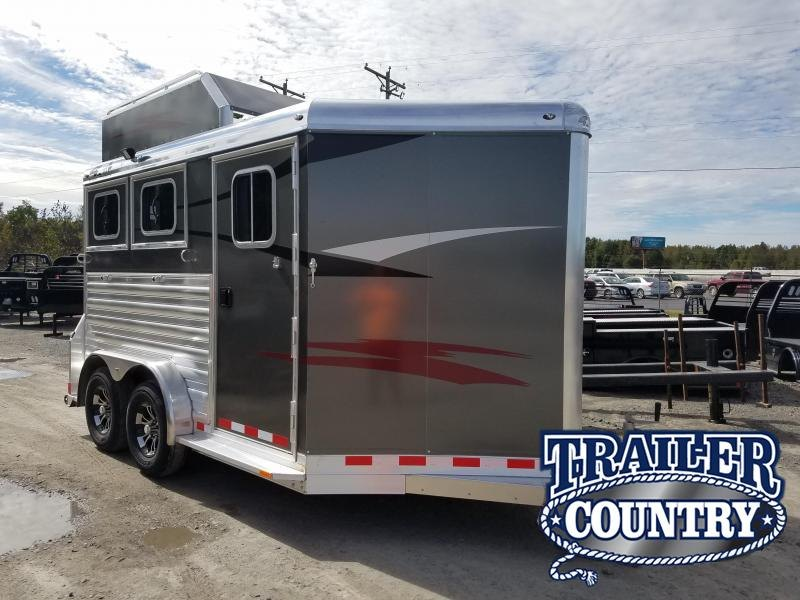 2019 4-Star Trailers 2 HORSE BP Trailer