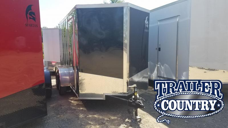 2020 Spartan 6X12 TA Enclosed Cargo Trailer