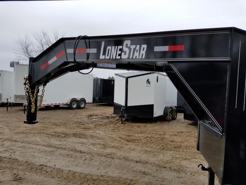 2019 Lonestar 102X40 GN Flatbed Trailer