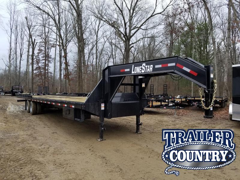 2019 Lonestar 102X40 GN Flatbed Trailer