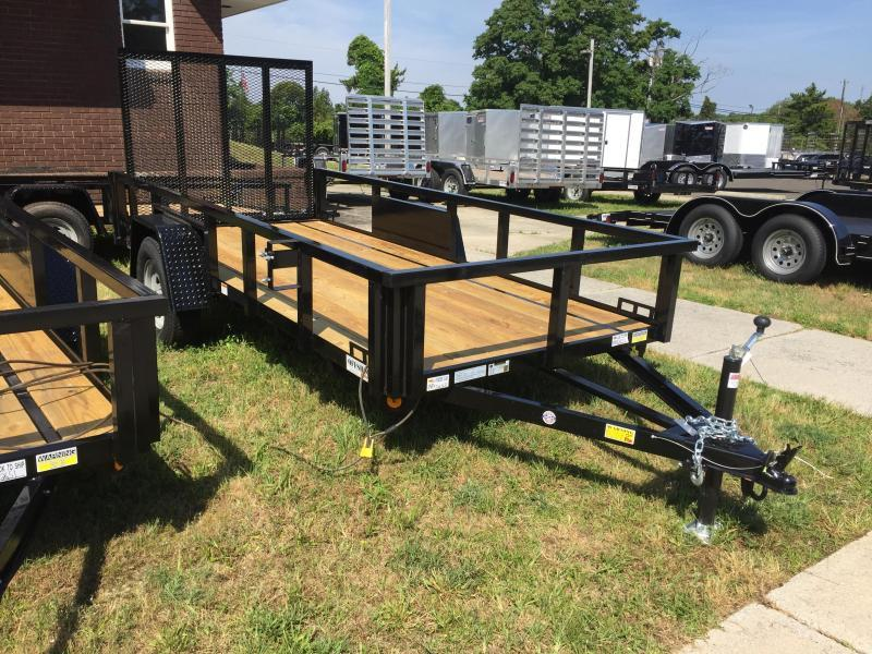 2018 Quality Steel and Aluminum 5X14 SA Utility Trailer
