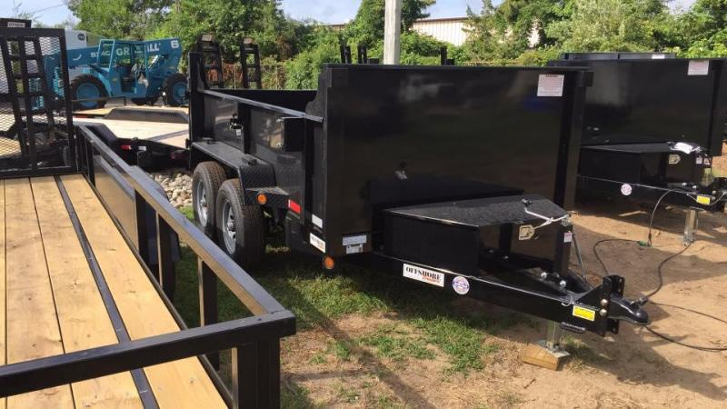 2019 Quality Steel and Aluminum 6X10 LOW PROFILE Dump Trailer in Ashburn, VA