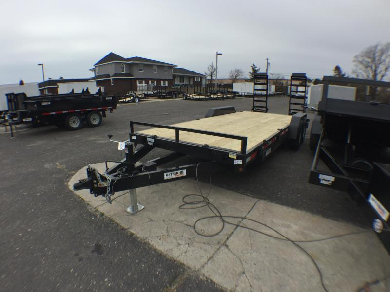 2019 Quality Steel and Aluminum 20 14K GVWR Equipment Trailer
