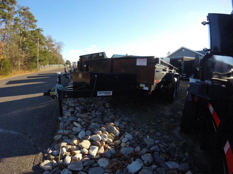 2019 Quality Steel and Aluminum 83x12 super econo Dump Trailer