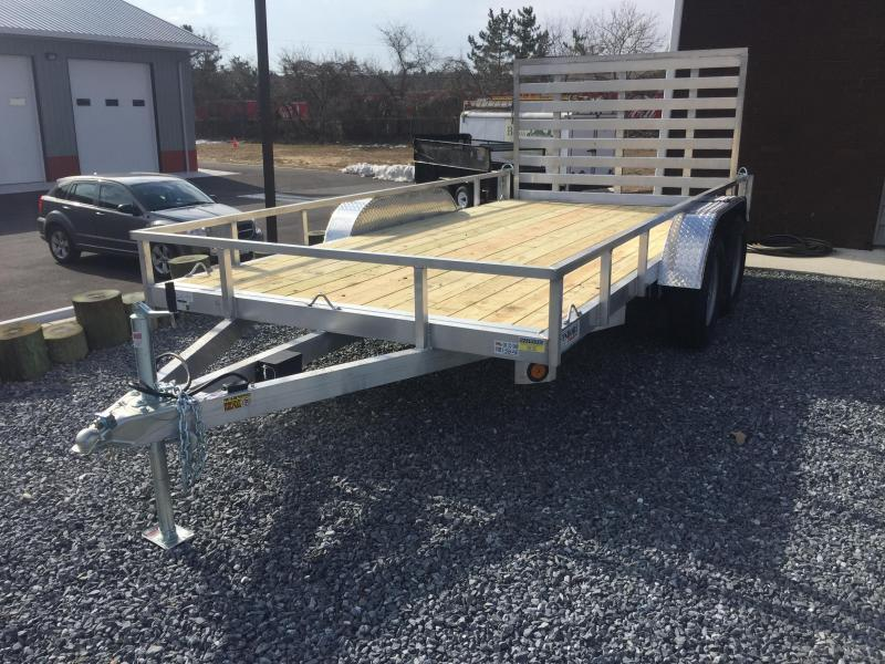 2019 Quality Steel and Aluminum 7X14 TA ALUMINUM Utility Trailer in Ashburn, VA