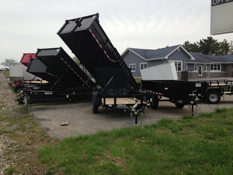 2019 Quality Steel and Aluminum 83x14 LP 14K Dump Trailer in Ashburn, VA