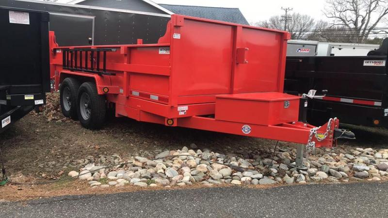 2019 Quality Steel and Aluminum 83x14 heavy duty Dump Trailer in Ashburn, VA