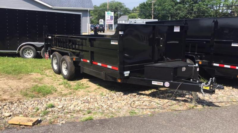 2019 Quality Steel and Aluminum 7X16 LOW PROFILE Dump Trailer in Ashburn, VA