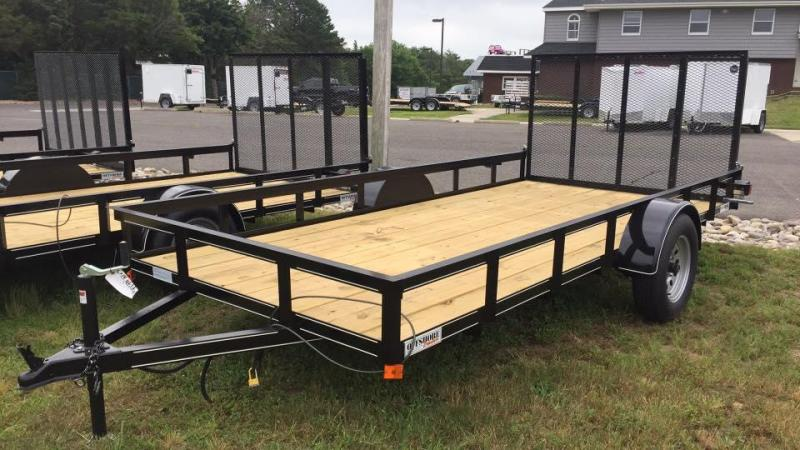 2018 P and T Trailers 6x14 Utility Landscape Trailer in Ashburn, VA