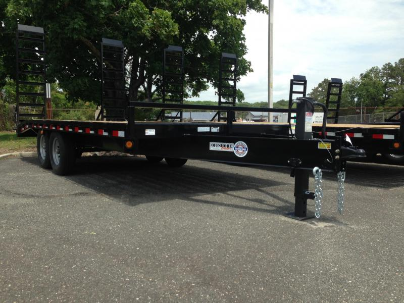 2019 Quality Steel and Aluminum 102X20+4 DECK OVER Equipment Trailer in Newton, NH
