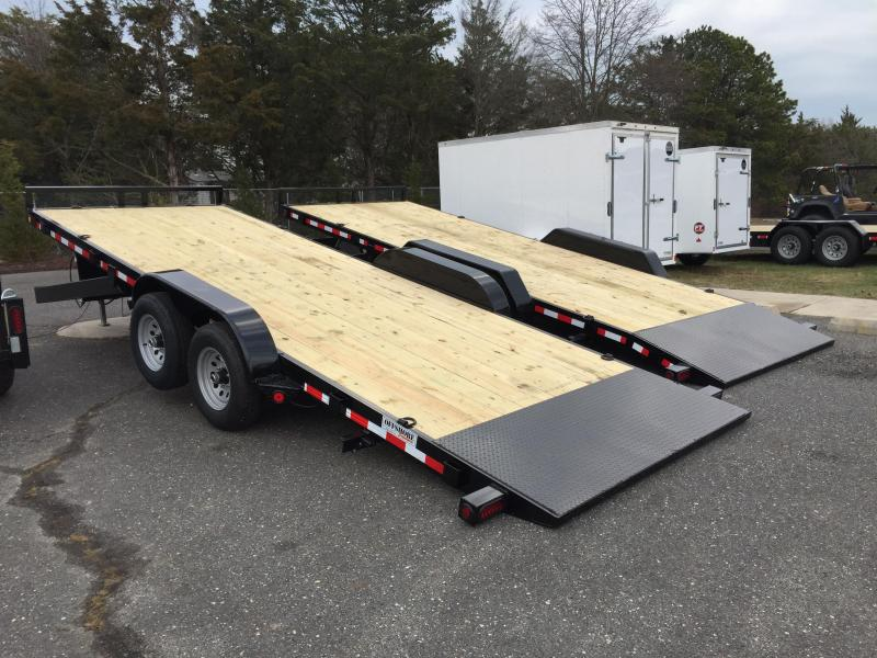 2018 Quality Steel and Aluminum 8320 14k Equipment Trailer in Newton, NH