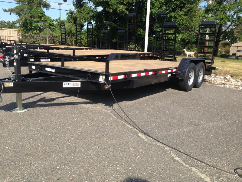 2019 Quality Steel and Aluminum 16 EQ Equipment Trailer in Newton, NH