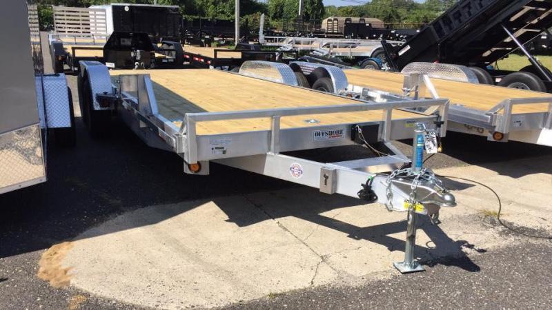 2019 Quality Steel and Aluminum 20 aluminum 10k Car / Racing Trailer