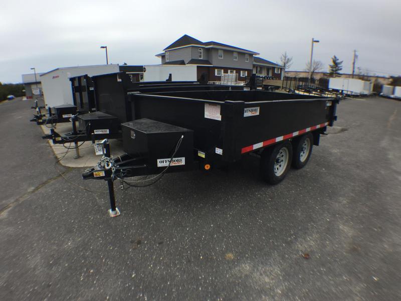 2018 Quality Steel and Aluminum 6X12 deckover Dump Trailer