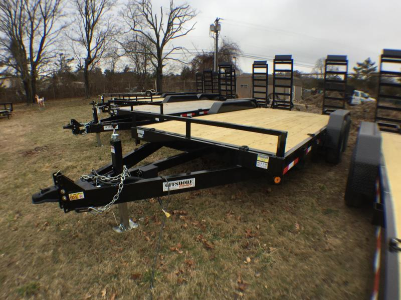 2019 Quality Steel and Aluminum 16 14K GVWR Equipment Trailer