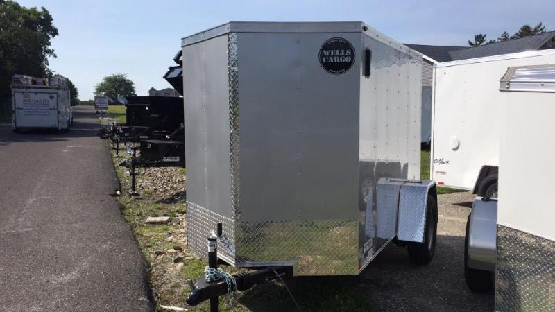 2018 Wells Cargo WCVG58S Enclosed Cargo Trailer