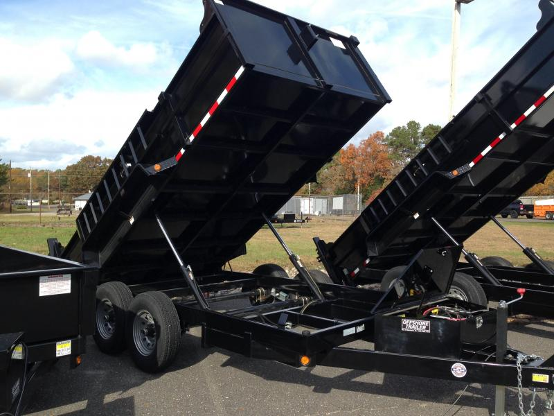 2019 Quality Steel and Aluminum 83x12 LP 12K Dump Trailer
