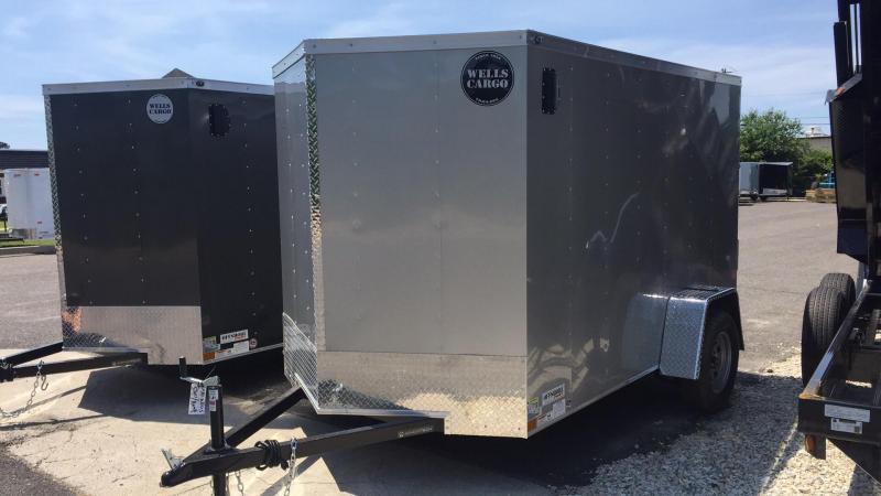 2018 Wells Cargo WCVG610S Enclosed Cargo Trailer