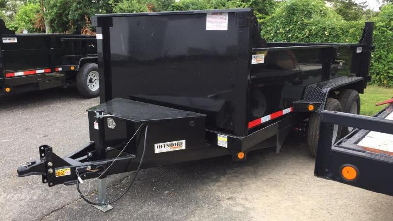 2019 Quality Steel and Aluminum 6X12 LOW PROFILE Dump Trailer in Ashburn, VA