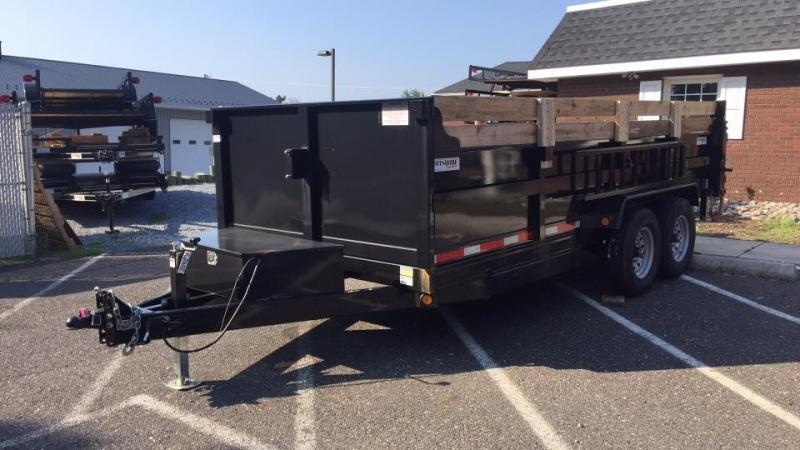 2020 Quality Steel and Aluminum 7X16 LOW PROFILE Dump Trailer in Ashburn, VA