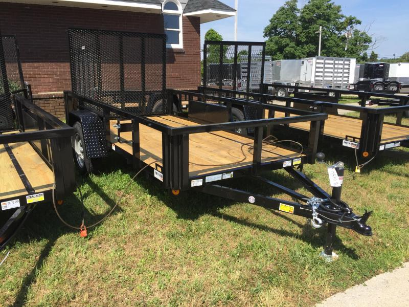2019 Quality Steel and Aluminum 5x10 sa  Utility Trailer