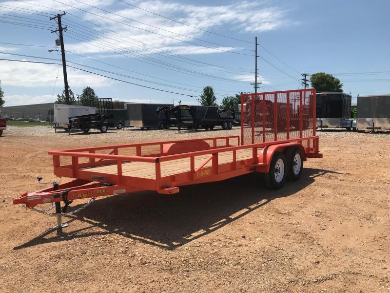 2018 Doolittle Trailer Mfg UT84X187K Equipment Trailer in Ashburn, VA