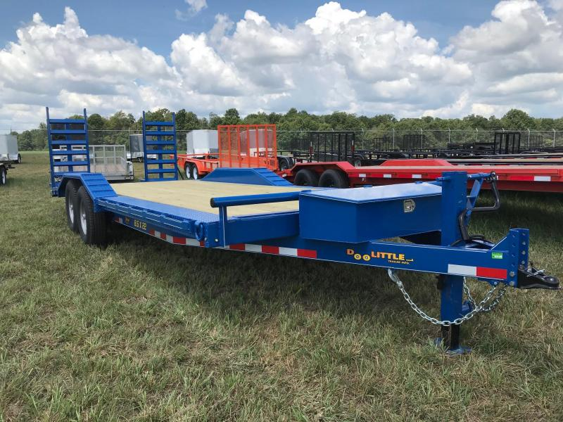 2019 Doolittle Trailer Mfg XT822014K Equipment Trailer