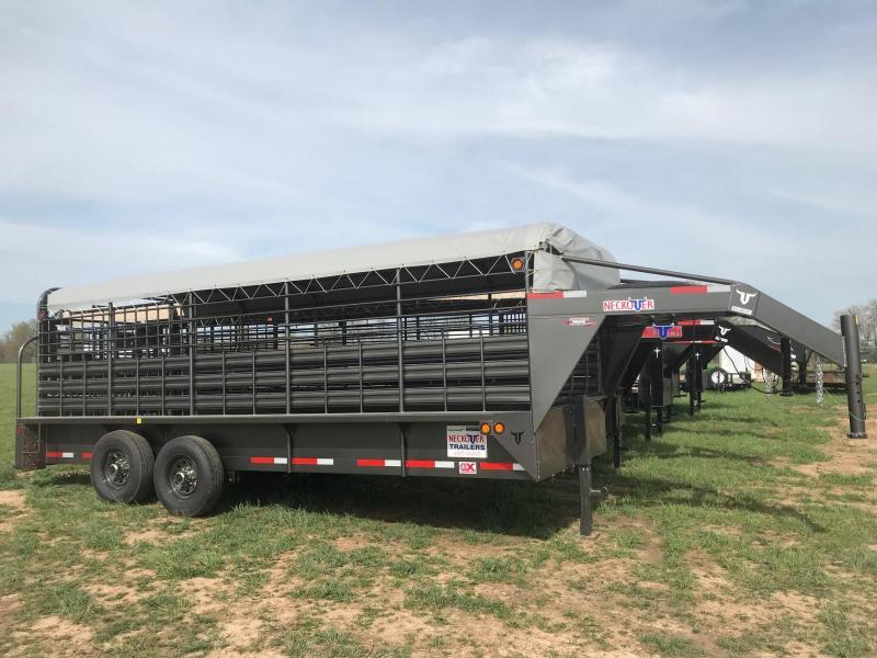 2019 Neckover Trailers GL20-2-7KS Livestock Trailer in Ashburn, VA