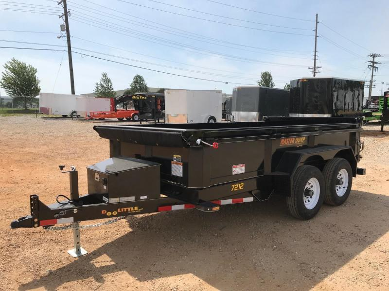 2018 Doolittle Trailer Mfg MD721210 Dump Trailer in El Dorado Springs, MO