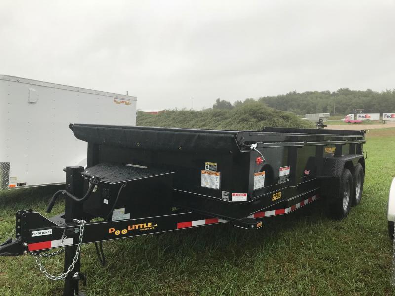 2019 Doolittle Trailer Mfg MD821614K Dump Trailer in Ashburn, VA