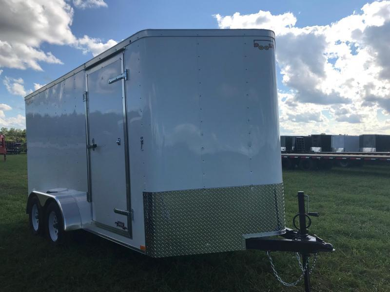 2019 Doolittle Trailer Mfg BL7X147K Enclosed Cargo Trailer