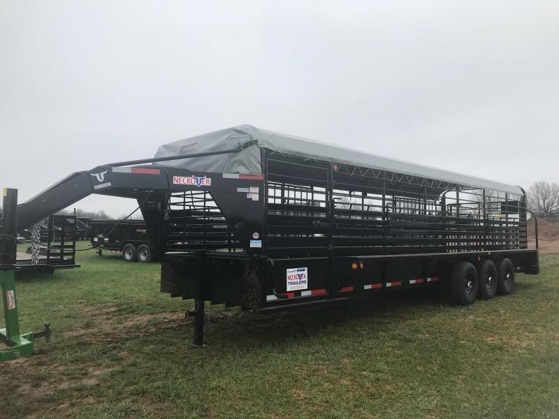 2019 Neckover Trailers GL28-3-7KT Livestock Trailer in Ashburn, VA