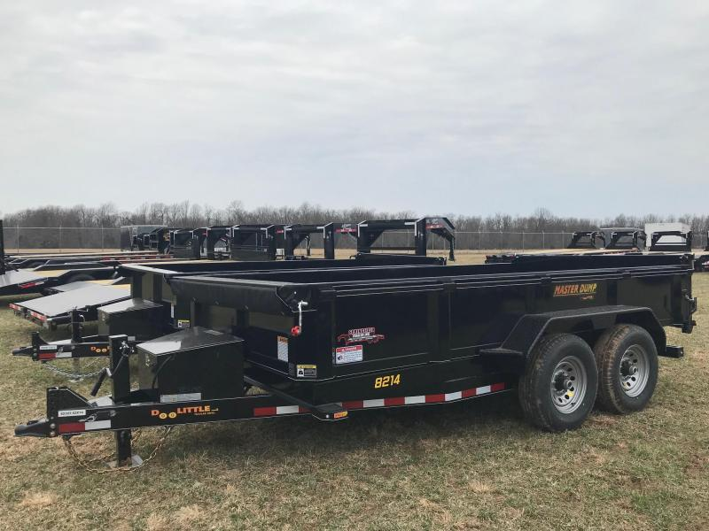 2019 Doolittle Trailer Mfg MD821414K Dump Trailer