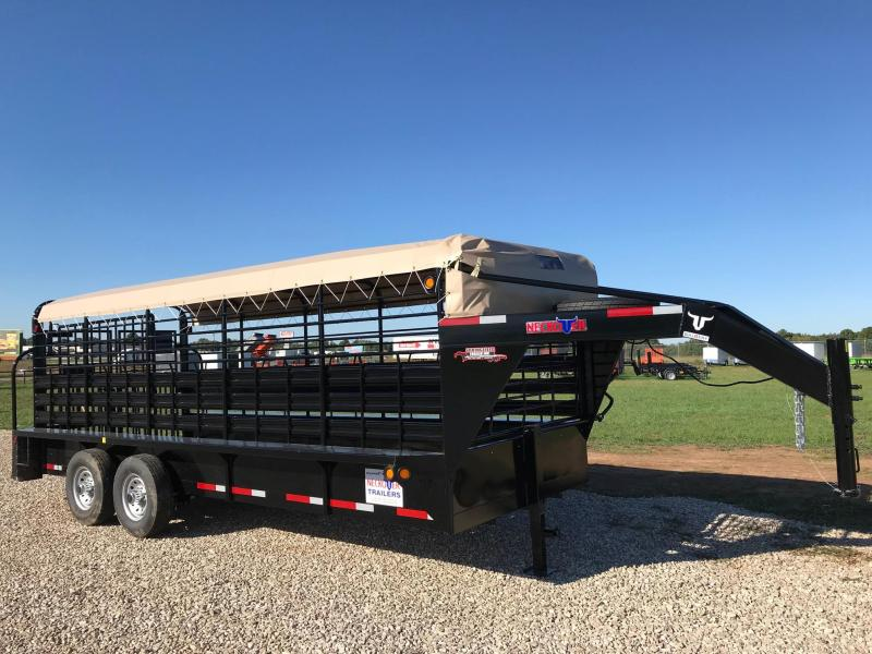 2018 Neckover Trailers GL20-2-6K Livestock Trailer