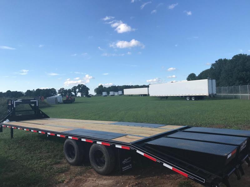 2019 Starlite Trailers 32TDGN-LP DECKOVER Equipment Trailer