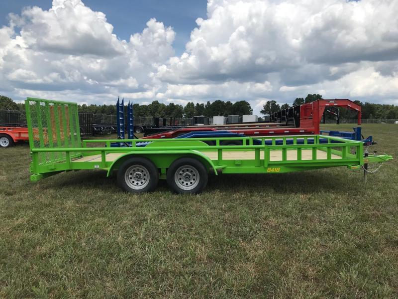 2019 Doolittle Trailer Mfg UT84X187K Equipment Trailer