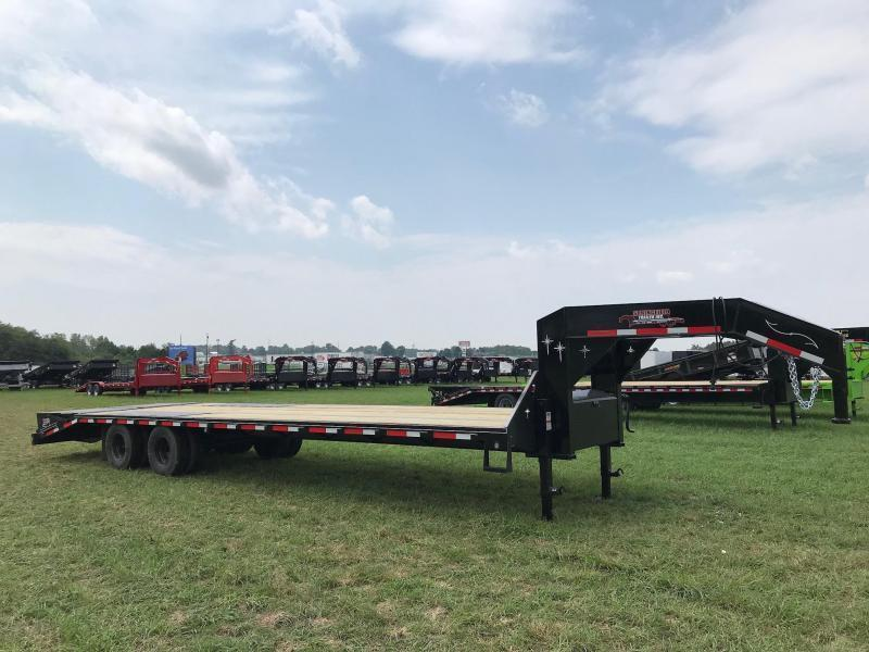 2019 Starlite Trailers 32TDGN-LP Equipment Trailer