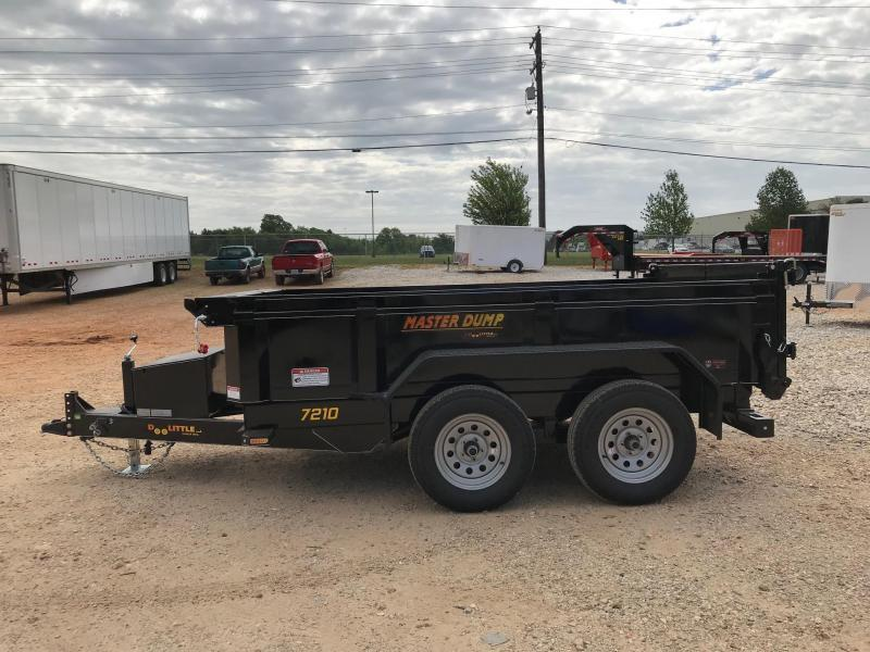 2019 Doolittle Trailer Mfg MD72107K Dump Trailer