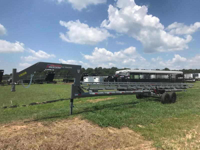 2019 Freedom Trailers 36' Single row Hay Trailer Hydraulic Dump
