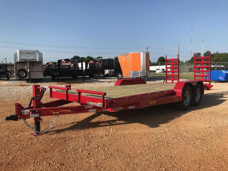 2019 Doolittle Trailer Mfg XT822014K Equipment Trailer in Gamaliel, AR