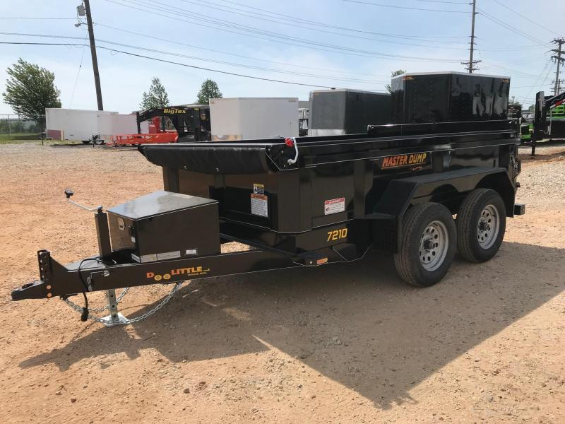 2018 Doolittle Trailer Mfg MD72107K Dump Trailer in Cassville, MO