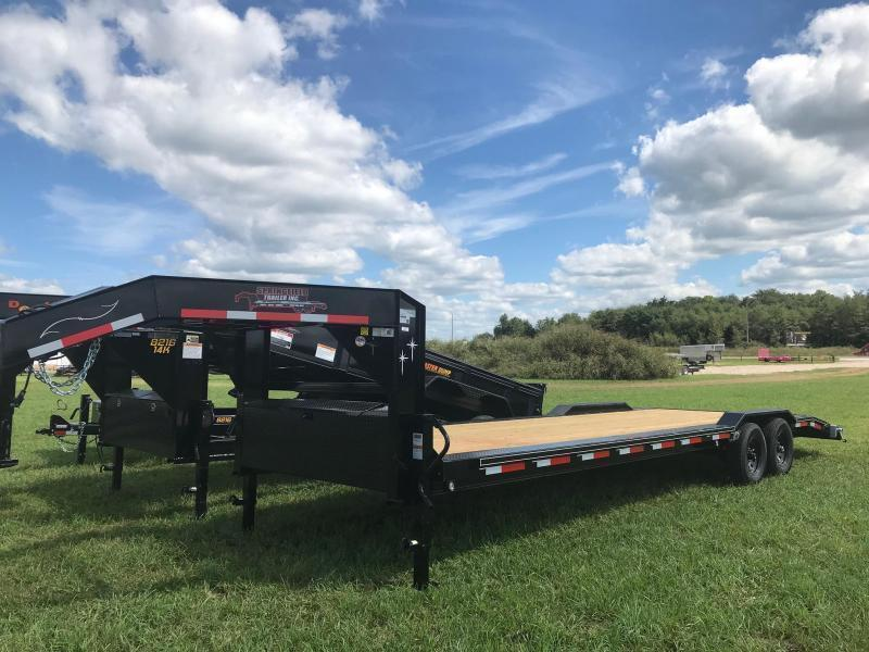 2019 Starlite Trailers 102-28101GNDV-DOF Equipment Trailer in Ashburn, VA